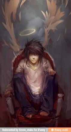 L ^_^ My favorite character from Deathnote!