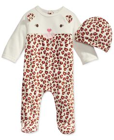 First Impressions Baby Girls' Cat Coverall & Hat Set, Only at Macy's - Baby Girl (0-24 months) - Kids & Baby - Macy's