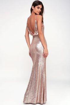 701fd0e7b3 Chic Celebration Champagne Sequin Maxi Dress Sage Green Maxi Dress