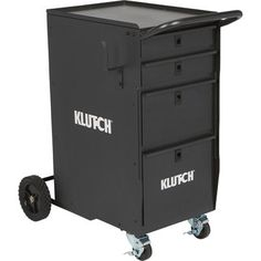 Klutch 4-Drawer Welding Cabinet — 25 1/2in.L x 20 1/2in.W x 34in.H