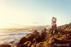Savannah and Shane's Engagement Session | Baker Beach San Francisco, CA