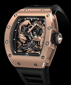 Richard Mille Produces Another Jackie Chan High-Luxury Watch With The RM 57-01 Phoenix And Dragon