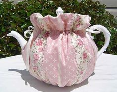 Tea Cozy for 68 Cup Teapot Reversible by CozyTeaTreasures on Etsy 1595 Sewing Crafts, Sewing Projects, Girls Tea Party, Tea Cozy, Rose Tea, English Roses, Light In The Dark, Cosy, Beautiful