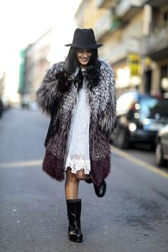 MFW Street Style Day Four: This is how you do the modern bohemian.