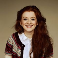 Ciara Baxendale, actress in E4's My Mad Fat Diary
