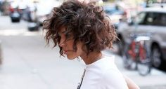 How to create curls when you have short hair? - MonStyle