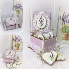 lavender jewellery box by Sveta