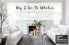 If you've ever walked into a paint store and asked for a white wall paint you know that it's often not as simple as grabbing a paint can off the shelf and walking out the door.   Whites…