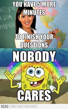 English class today...