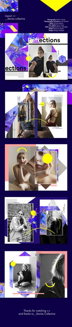 Reflections___Stories Collective on Behance