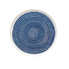 Marimekko Blue Siirtolapuutarha Salad Plate - Marimekko Siirtolapuutarha & Räsymatto Dinnerware