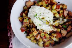 """""""Sweet Potato Breakfast Hash"""" *Really* excited to try this recipe! Hope it gives Northstar a run for their money :-)"""