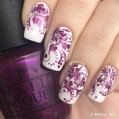 Dry Marble by Yagala from Nail Art Gallery