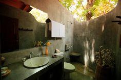 Outdoor bathroom!