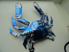 Bud Light Crab. Made from Bud Light cans. by JUNKBOXCUSTOMS, $39.99
