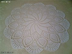 Crochet doily ♥LCD-MRS♥ with diagrams. Click on image to enlarge.