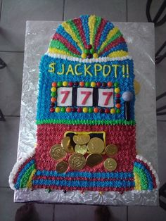 Slot Machine Cake By mkyvonne on CakeCentral.com
