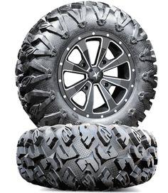 MSA M22 Enduro Flat Mill V2 Wheels 28 in. EFX MotoClaw Tires