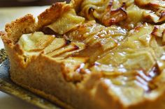Tarta de Pésaj de manzana - revistamaru.com  LLEVA HARINA DE MATZA