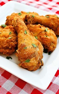 Spicy Southern Fried Chicken Recipe