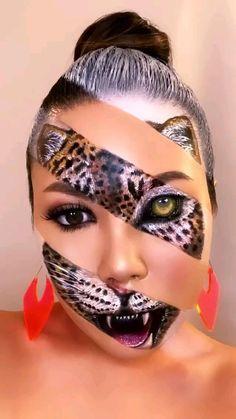 Sfx Makeup, Costume Makeup, Makeup Art, Face Paint Makeup, Witch Makeup, Skull Makeup, Beauty Makeup, Halloween Makeup Looks, Up Halloween