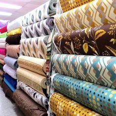 telas para cortinas.. tomando ideas para mi cuarto