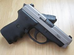 Two-Tone SIG Sauer P239 with Hogue relief grips
