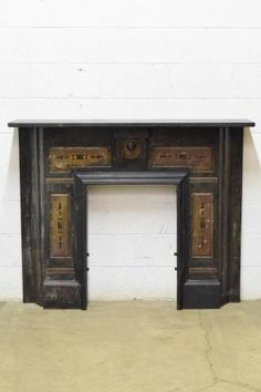 Architectural salvage and Fireplace s…
