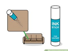 3 Ways to Remove Ink Stains from Leather - wikiHow