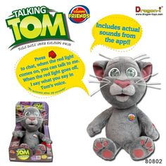 On Toy Doll Talking Tom Now !
