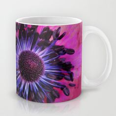 Flower #1 by Psychae Mugs available on  http://society6.com/psychae