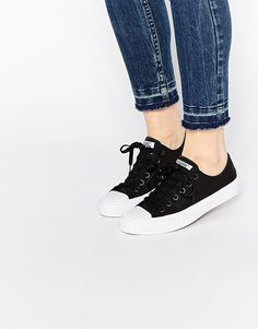 Image 1 of Converse Chuck Taylor II Black Ox Trainers http://www.95gallery.com/