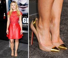 Espor eso que las famosas seponen zapatos deunnúmero más grande