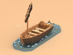 Low Poly Modelling from Reference Practice, Anthony Beutler Environment Concept Art, Environment Design, Cube World, Casual Art, Low Poly Games, Blender 3d, Blender Models, Polygon Art, Isometric Art