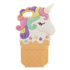 Unicorn Ice Cream Cone Phone Case,