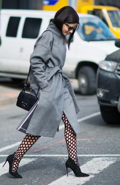 Did Patterned Tights Just Become a Thing? - Fashionmylegs : The tights and hosiery blog