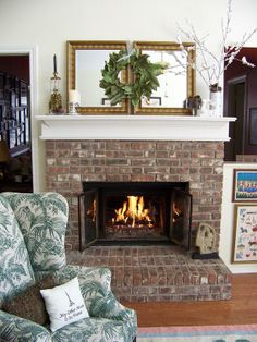 Mantel  Decorations : IDEAS & INSPIRATIONS : Decorate Your Mantel for Winter