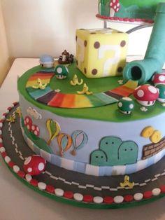 Mario Kart wedding cake   Nintento