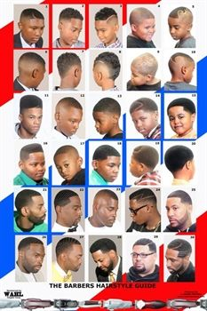 Black Men Hairstyles Chart Fadesincuts Pinterest Hair Cuts