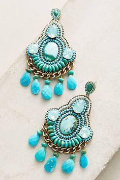 Anthropologie Favorites:: Summer Statement Earrings