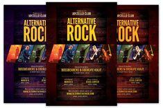 Alternative Rock Flyer by KiraYamato on Next Conference, Concert Flyer, Sports Flyer, Model Photos, Flyer Design, Alternative, Rock, Flyers, Abstract