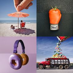 Creative director Stephen McMennamy merges his original photography to create delightfully quirky mashups called #ComboPhotos.