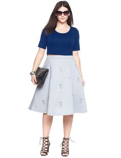 Blingful Skirt | Women's Plus Size Skirts | ELOQUII