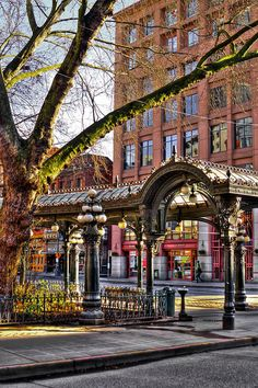 The Pioneer Square Pergola - Seattle