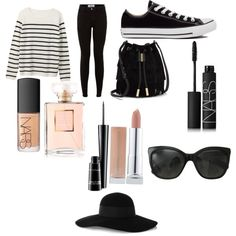 Sem título #195 by toniagostini on Polyvore featuring polyvore, fashion, style, Converse, Vince Camuto, Eugenia Kim, Chanel, NARS Cosmetics and MAC Cosmetics