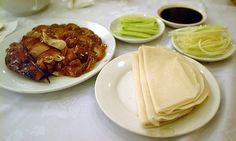 This may not seem like a place, but you must get Peking duck in Beijing. Peking Duck, Roast Duck, Yummy Food, Tasty, Asian Chicken, Chinese Restaurant, Chinese Food, Beijing, Asian Recipes