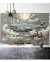 Ocean Meets Sky / Whimsical Kids Wall Decor | Milton & King