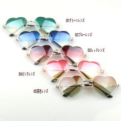 Buy Fashion unisex gradient colored sunglasses Cute heart-shaped glasses at Wish - Shopping Made Fun Beach Sunglasses, Sunglasses Accessories, Mirrored Sunglasses, Sunglasses Women, Heart Shaped Glasses, Heart Shaped Frame, Womens Glasses, Unisex, Sunglass Frames