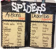Step into 2nd Grade with Mrs. Lemons: Using Spirals and The Beginning of our Spider Week!