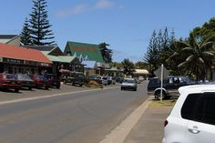 Taylors Road, the main street in Burnt Pine, the main town of Norfolk Island Norfolk Pine, Norfolk Island, Relaxing Places, Taylors, Small Island, Beautiful Islands, Places Ive Been, Burns, To Go